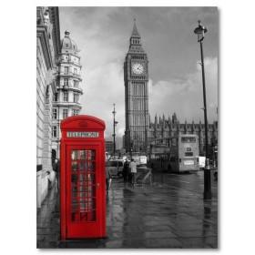 Αφίσα (μαύρο, λευκό, άσπρο, Big Ben)